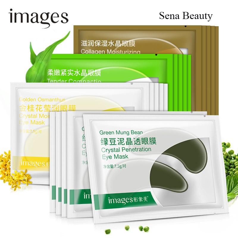 Combo 5 miếng mặt nạ dưỡng da vùng mắt Images Senabeauty