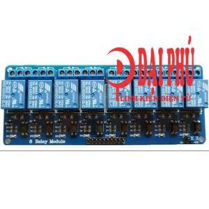 Module relay 8 kênh 5V có opto cách ly