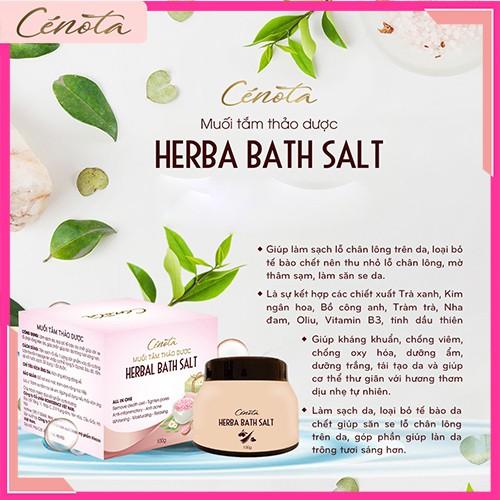 Muối tắm thảo dược tự nhiên, muối tắm làm sạch lỗ chân lông - C02