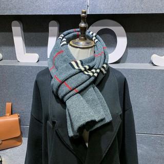 Khăn len dệt mịn họa tiết nam nữ unisex
