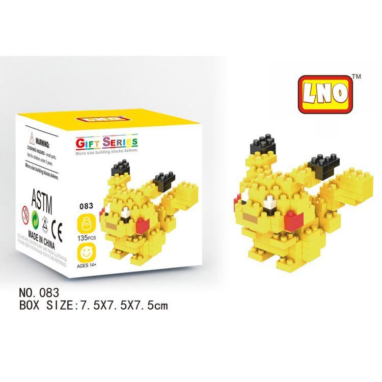 Bộ đồ chơi lắp ráp Pokemon sáng tạo cho trẻ em