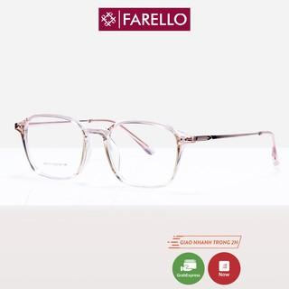 Gọng kính cận nữ FARELLO kim loại 00131