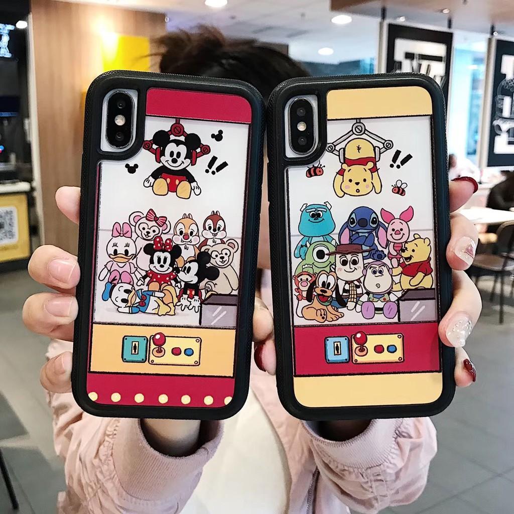 ốp lưng hoạt hình xinh xắn cho điện thoại iphone xs max xr i8 i7 i6 i6s plus
