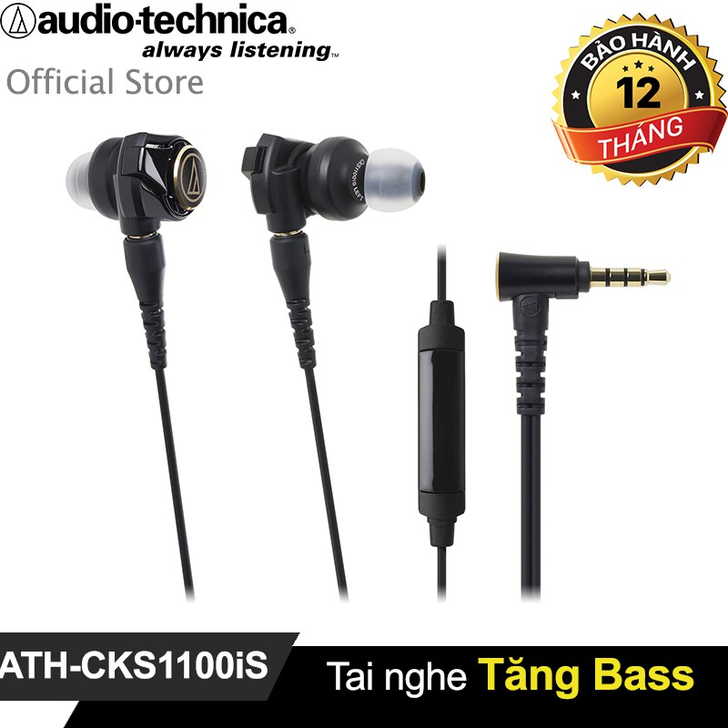 Tai nghe Audio-Technica tăng Bass ATH-CKS1100iS