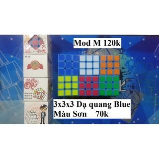 Rubik 3x3x3. Dạ Quang Blue