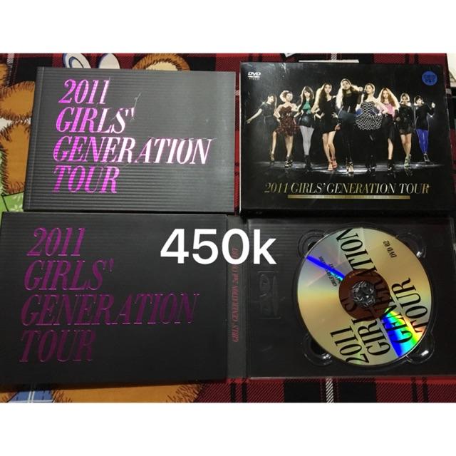 SNSD DVD tour 2011