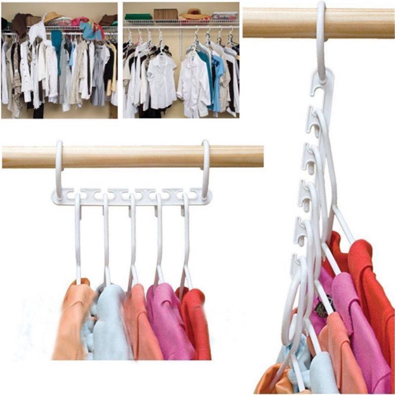 Móc treo quần áo tiết kiệm không gian thumbnail