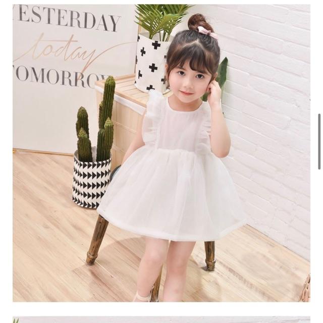 Thanh lý Toàn bộ cửa hàng - xả lỗ - Giá gốc 104k - Váy Cánh tiên công chúa siêu xinh cho bé gái