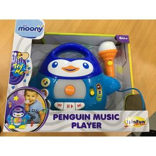 Bộ đồ chơi chim cánh cụt có mic biết hát winfun