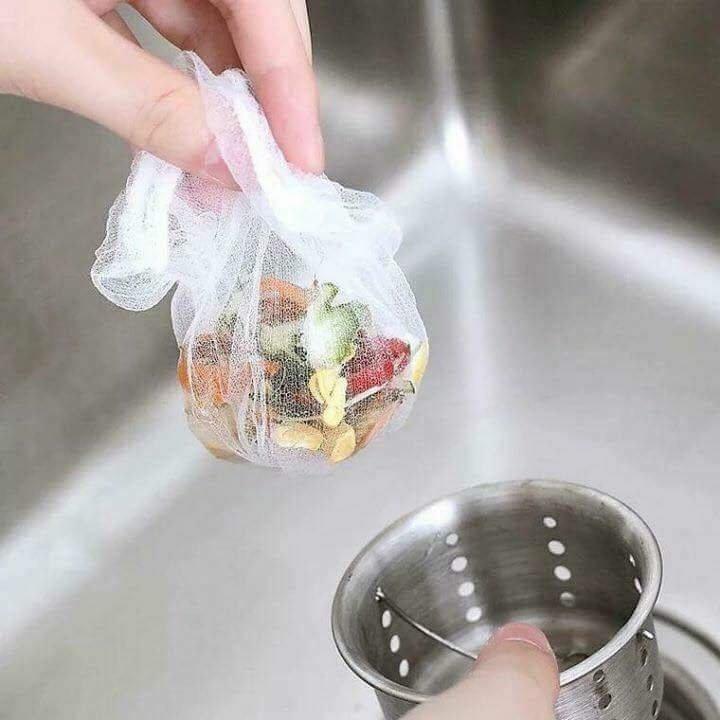 Sỉ 100 túi lọc rác đa năng cho bồn rửa bát
