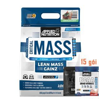 Combo Mass Tăng Cân Critical Mass Applied Nutrition 6Kg & Bình Lắc