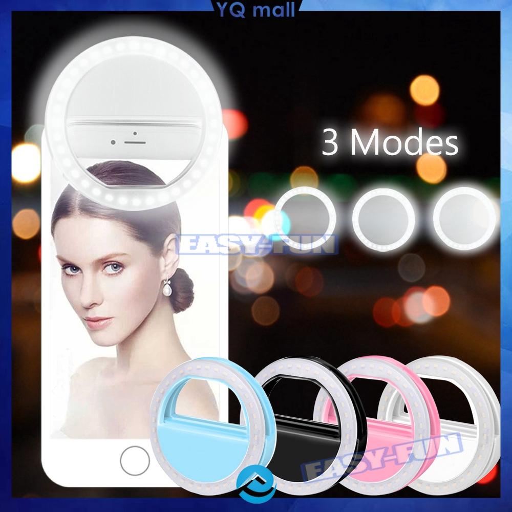 ĐÈN LED GẮN ĐIỆN THOẠI CHỤP ẢNH TỰ SƯỚNG/Đèn LED Selfie tạo ánh sáng mịn  khi chụp ảnh