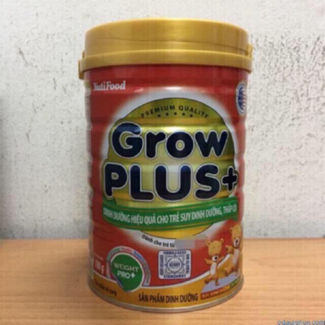 Sữa nuti Grow Plus đỏ 900g date 2021