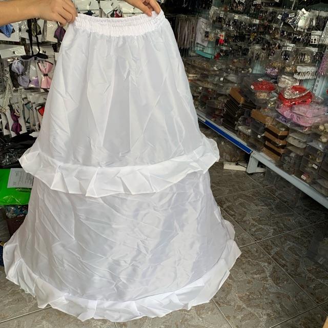 Tùng phồng 2 tầng - phụ kiện cưới Giang - tùng cho váy cưới