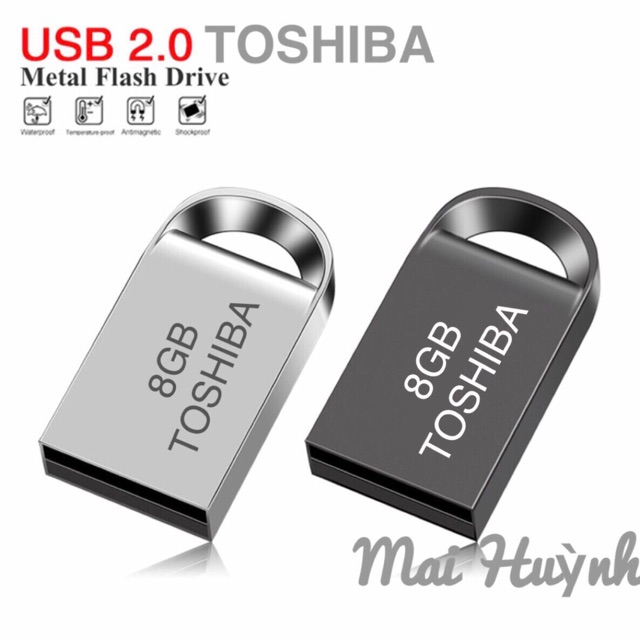 USB [2.0] 8GB Toshiba – BH 12 Tháng Giá chỉ 62.000₫