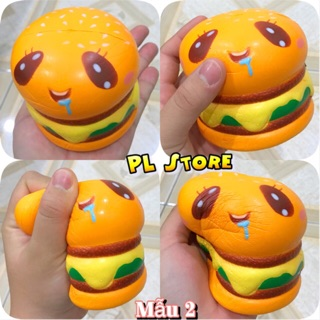 Squishy Hamburger Mèo Jumbo