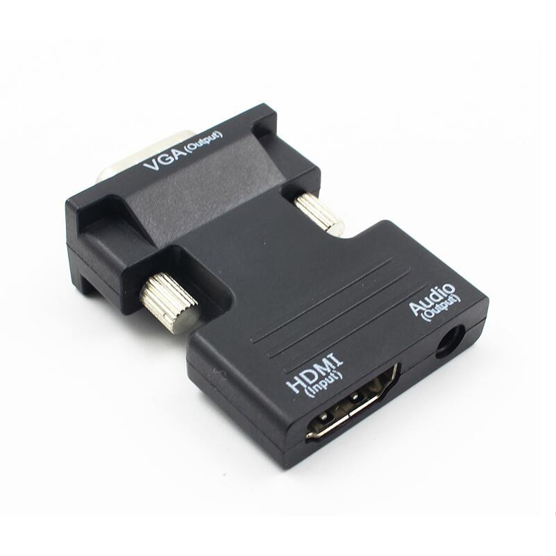 Adapter Converter HDMI Female to VGA Male Support 1080P Signal Output