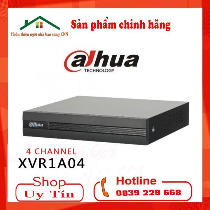 Đầu ghi hình 4 8 kênh Dahua XVR 1A04 XVR 1A08 - Chính Hãng Dahua DSS BH 24 THÁNG