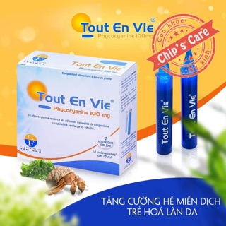 Tảo Tout en Vie Pháp chính hãng
