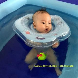 [SIÊU SALE] Bể bơi phao 3 tầng loại 1 tặng kèm phao đỡ cổ cho bé