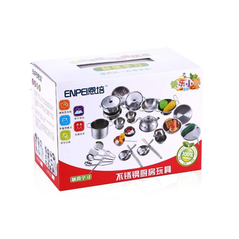Bộ đồ chơi nấu ăn bằng inox 40 món cho bé - 2730802 , 842588314 , 322_842588314 , 400000 , Bo-do-choi-nau-an-bang-inox-40-mon-cho-be-322_842588314 , shopee.vn , Bộ đồ chơi nấu ăn bằng inox 40 món cho bé