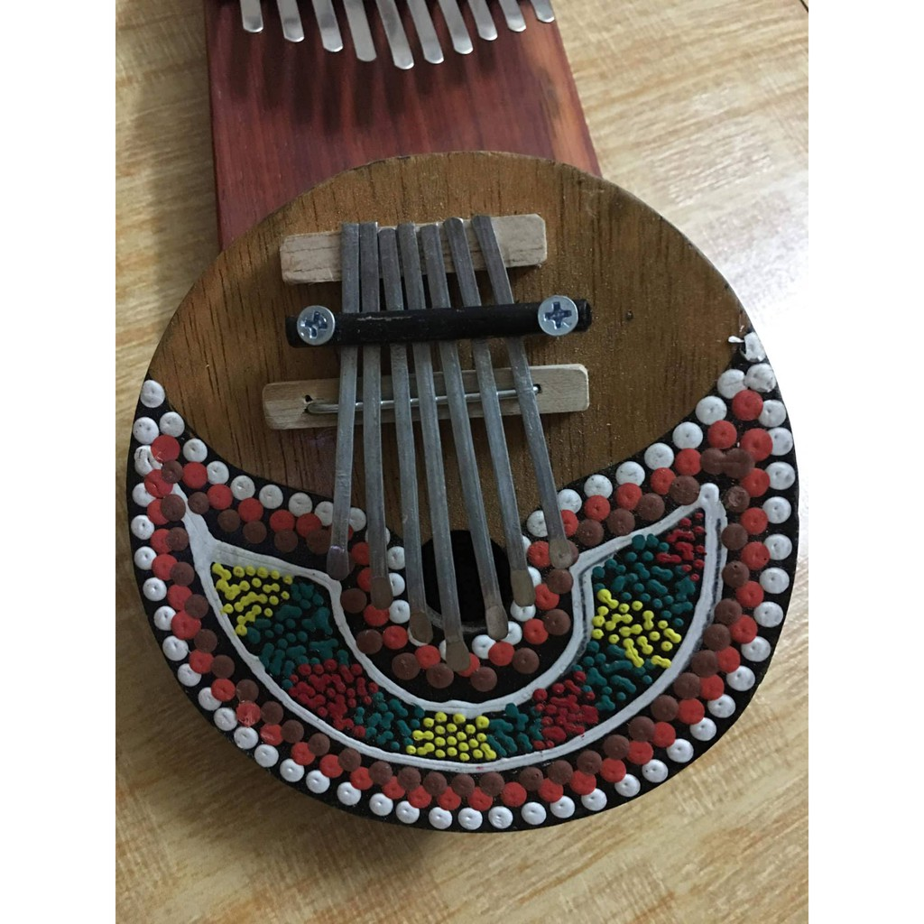 Đàn Kalimba Thumb Piano Gỗ trái dừa