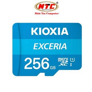Thẻ nhớ MicroSDXC Kioxia Exceria 256GB UHS-I U1 100MB/s (Xanh) - Formerly Toshiba Memory