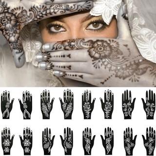 1 Hình Xăm Dán Henna Ấn Độ