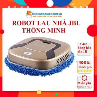 Robot lau nhà thông minh JBL với hai chế độ lau khô và lau uớt làm sạch nền nhà tự động sử dụng pin sạc - có bảo hành