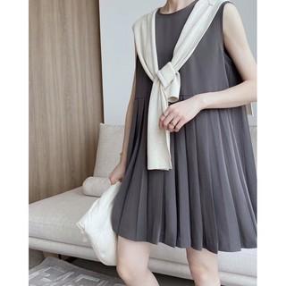 Váy Gracetina dress không tay, xếp li - 270421003 - TUNA THE LABEL thumbnail