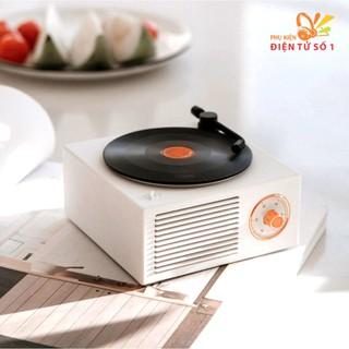 Loa bluetooth Retro X10 hình đĩa than âm thanh sống động, thiết kế độc đáo