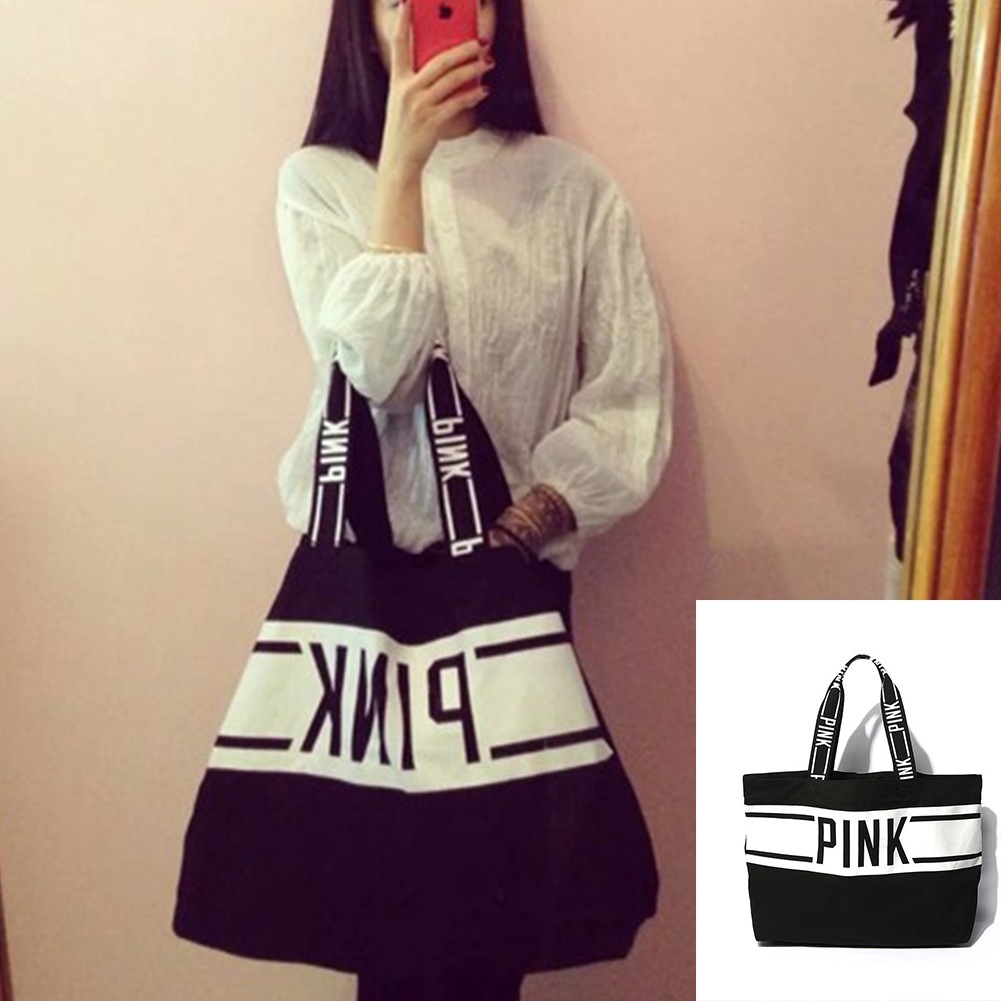 Canvas, women handbag, fashion