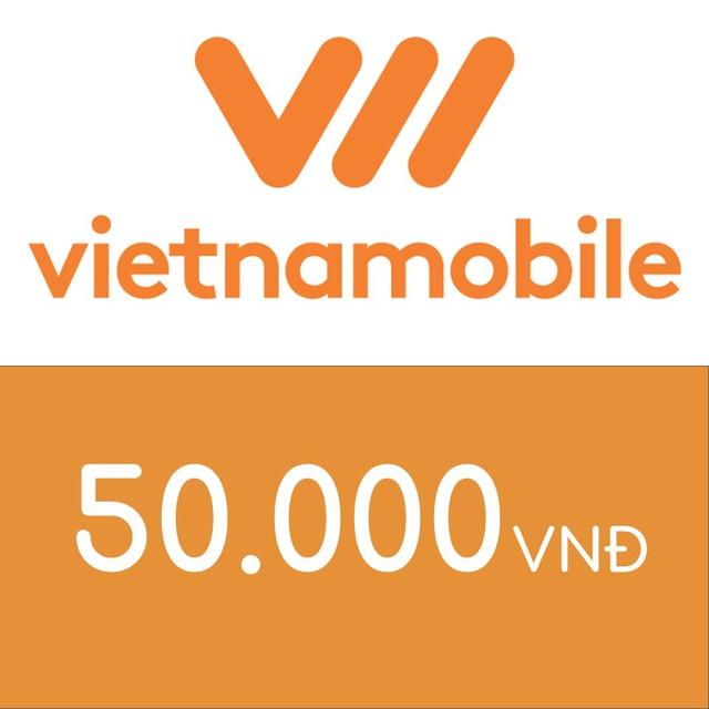 Mã thẻ điện thoại Vietnamobile 50K