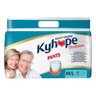 Tã quần người lớn Kyhope Premium M/L 7 miếng.
