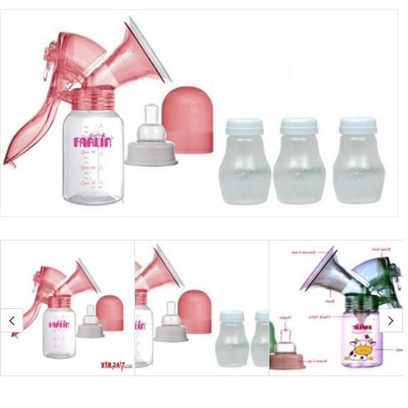 Bộ hút sữa vô trùng bằng tay Farlin BF-640A + 3 bình trữ sữa - 3257012 , 590584763 , 322_590584763 , 565000 , Bo-hut-sua-vo-trung-bang-tay-Farlin-BF-640A-3-binh-tru-sua-322_590584763 , shopee.vn , Bộ hút sữa vô trùng bằng tay Farlin BF-640A + 3 bình trữ sữa