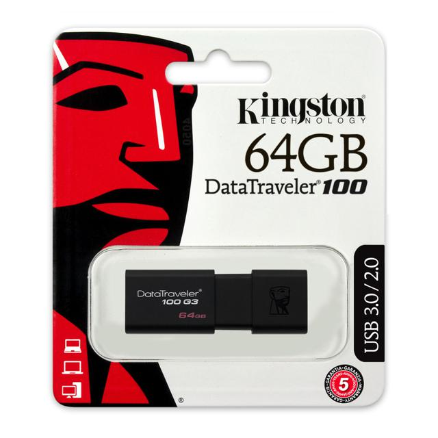 USB 3.0 Kingston DT100G3 64GB