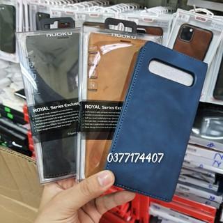 Bao da dạng ví cho Samsung Galaxy S10 5G chính hãng Nuoku đẹp siêu tiện thumbnail