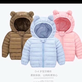Áo phao siêu nhẹ hàng Quảng Châu cho bé