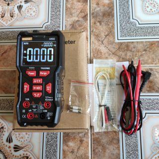 Đồng hồ vạn năng tự động ANENG AN82 chính hãng độ chính xác cao tặng kèm pin panasonic 9v
