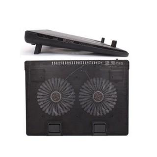 Đế Tản Nhiệt Laptop 2 Quạt chạy êm dành cho Laptop từ 14 đến 17 - Fan A8 thumbnail