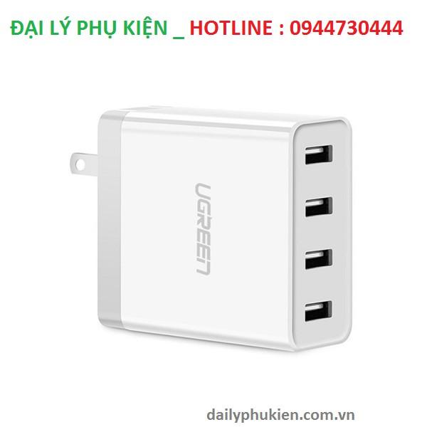 Củ sạc di động 4 cổng USB (34W 6.8A) Ugreen UG-30991 cho điện thoại Iphone 6s,7 Ipad, Gal - 2902716 , 625803389 , 322_625803389 , 345000 , Cu-sac-di-dong-4-cong-USB-34W-6.8A-Ugreen-UG-30991-cho-dien-thoai-Iphone-6s7-Ipad-Gal-322_625803389 , shopee.vn , Củ sạc di động 4 cổng USB (34W 6.8A) Ugreen UG-30991 cho điện thoại Iphone 6s,7 Ipad, Gal
