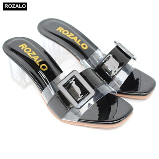 Dép guốc cao gót trong 5P Rozalo R5700
