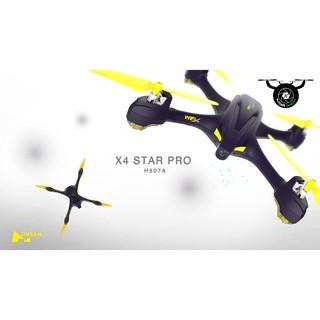 Flycam Hubsan H507A X4 Star Pro+ GPS FPV Với bộ điều khiển