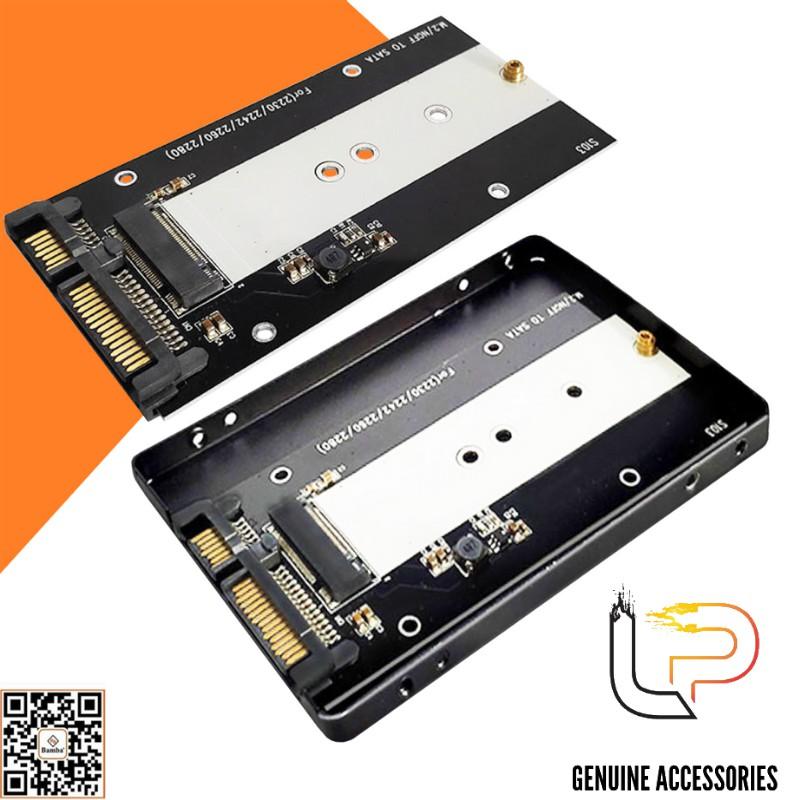 HỘP ĐỰNG Ổ CỨNG M2 (NGFF) BAMBA B3 - BOX SSD M2(NGFF) RA SATA 3 BAMBA B3