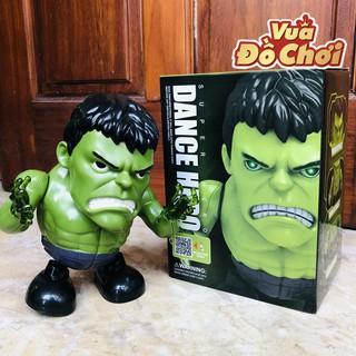 Robot Nhảy Múa Theo Nhạc Hulk Người Khổng Lồ Xanh – Đồ Chơi Mô Hình