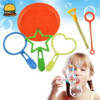 6 PCS/Set Children Colorful Cute Bubble Water Bottled Bubble Outdoor Game for Kids