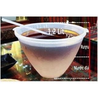 Bát Đựng Rượu Và Ướp Lạnh Trái Cây - Dụng Cụ Ướp Lạnh Việt Nhật, Tặng Kèm Muỗng Múc thumbnail