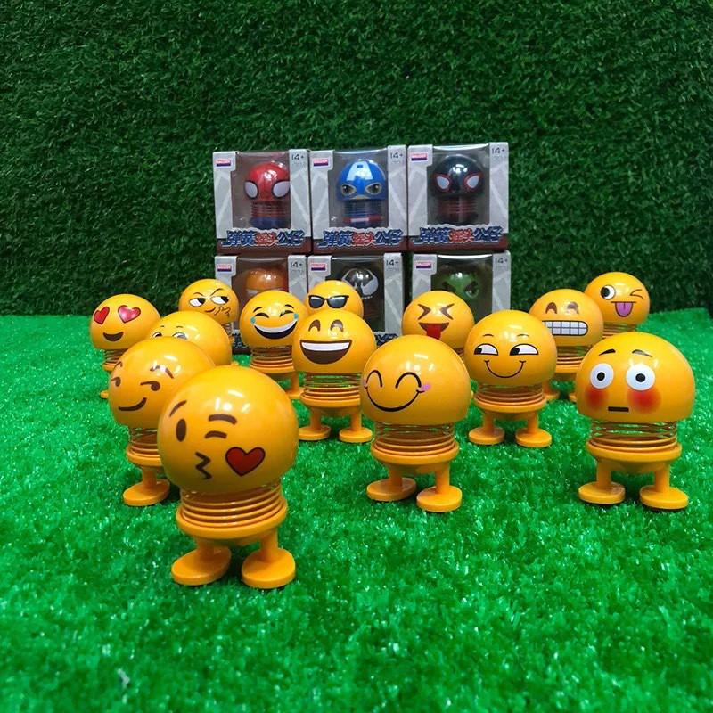 Robot Lò Xo Cảm Xúc Nhún Nhảy Xả Stress