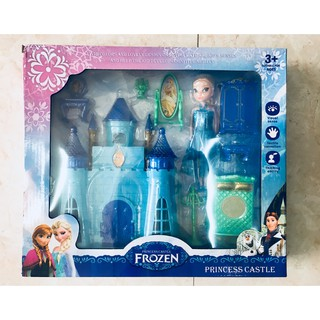 Búp Bê Elsa kèm lâu đài