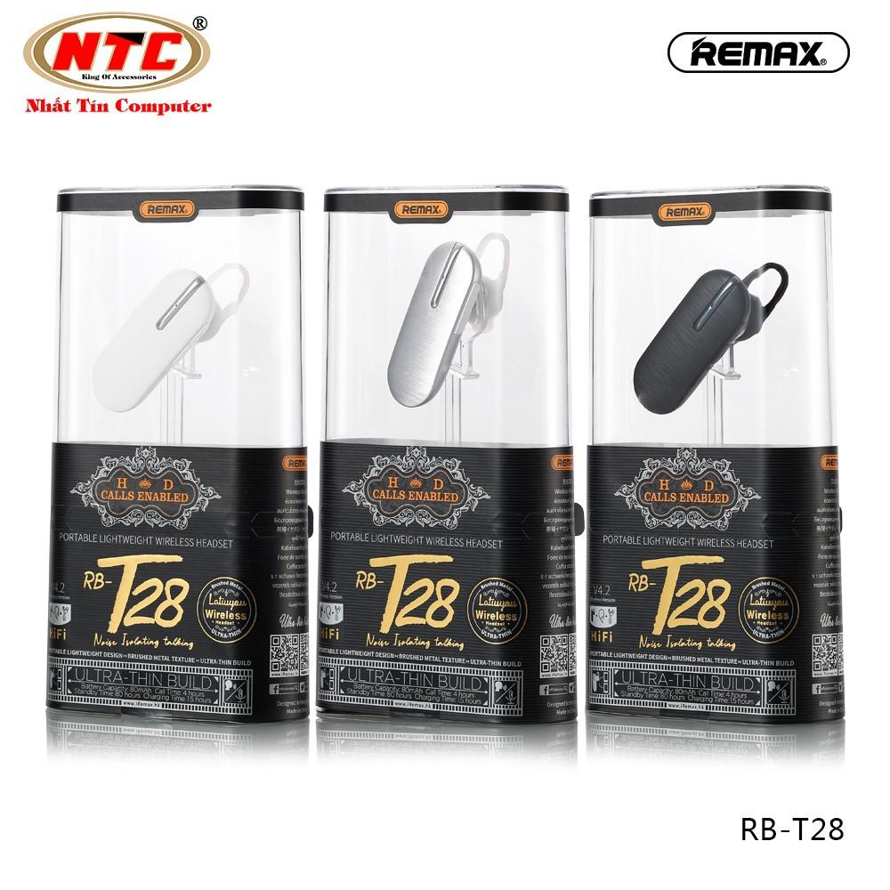 Tai nghe bluetooth nhét tai Remax RB-T28 Wireless V4.2 - Hàng chính hãng